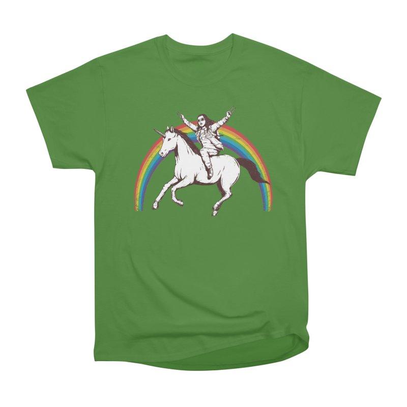 X-treme Unicorn Ride Women's Classic Unisex T-Shirt by Pigboom's Artist Shop