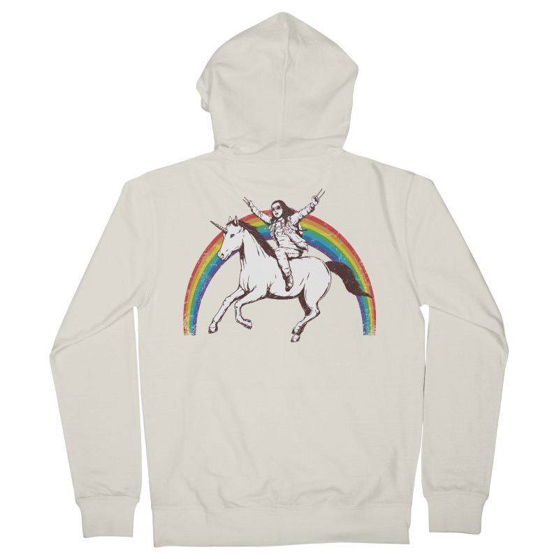 X-treme Unicorn Ride Women's Zip-Up Hoody by Pigboom's Artist Shop