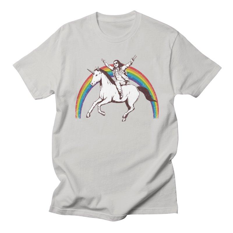 X-treme Unicorn Ride Men's T-shirt by Pigboom's Artist Shop