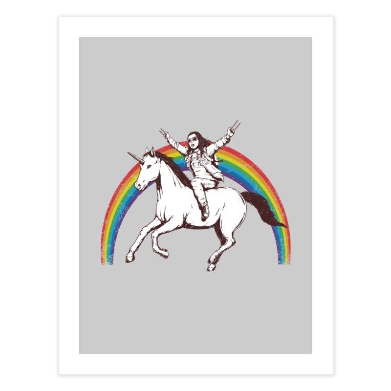 X-treme Unicorn Ride Home Fine Art Print by Pigboom's Artist Shop