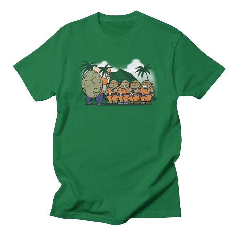 Ninja Kame Kids Men's T-shirt by Pigboom's Artist Shop