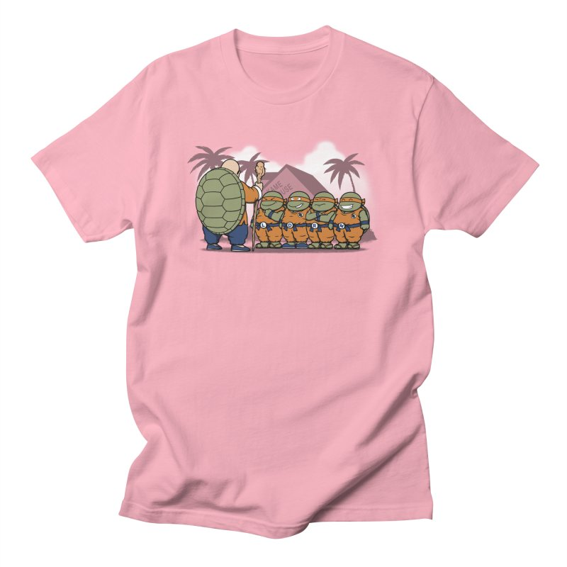 Ninja Kame Kids Women's Unisex T-Shirt by Pigboom's Artist Shop