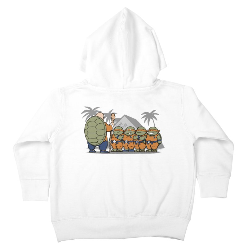 Ninja Kame Kids Kids Toddler Zip-Up Hoody by Pigboom's Artist Shop