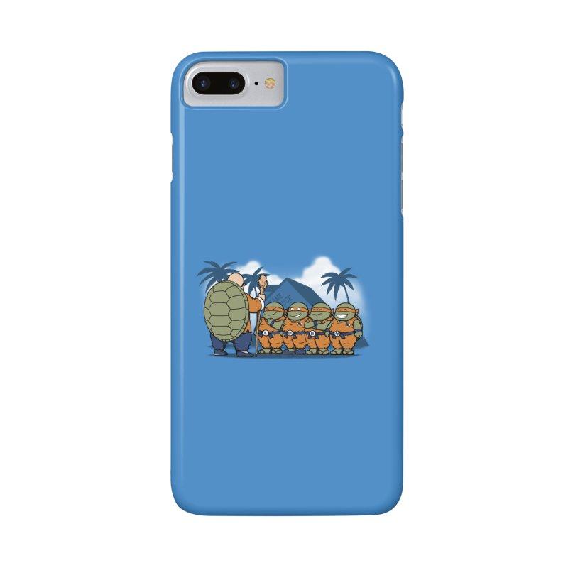 Ninja Kame Kids Accessories Phone Case by Pigboom's Artist Shop