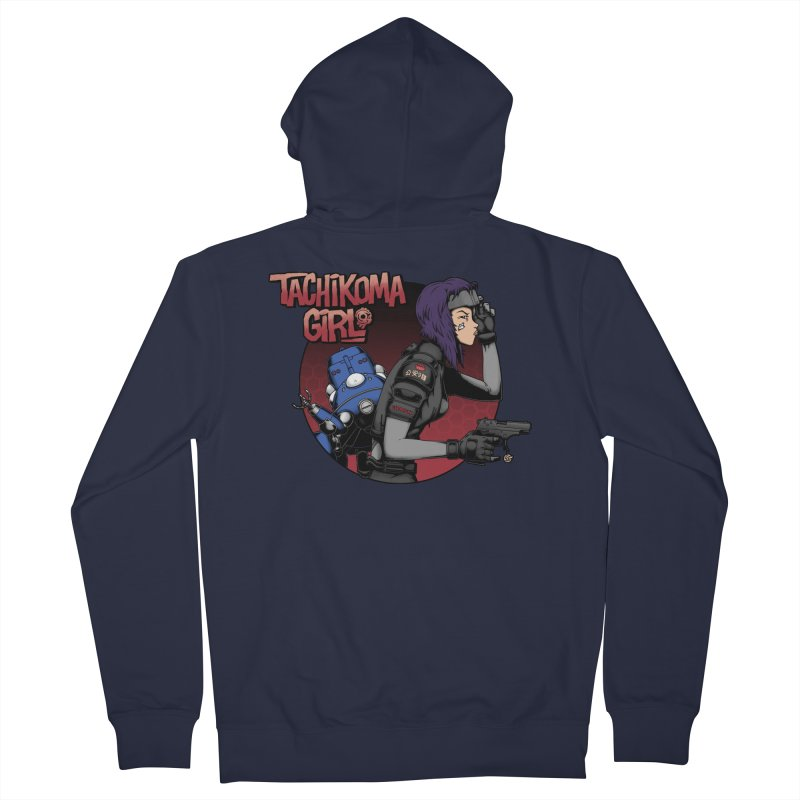 Tachi-Tank Girl Men's Zip-Up Hoody by Pigboom's Artist Shop