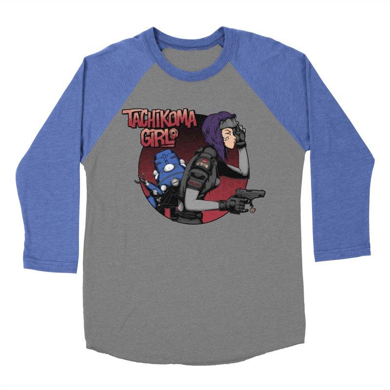 Tachi-Tank Girl Women's Baseball Triblend T-Shirt by Pigboom's Artist Shop