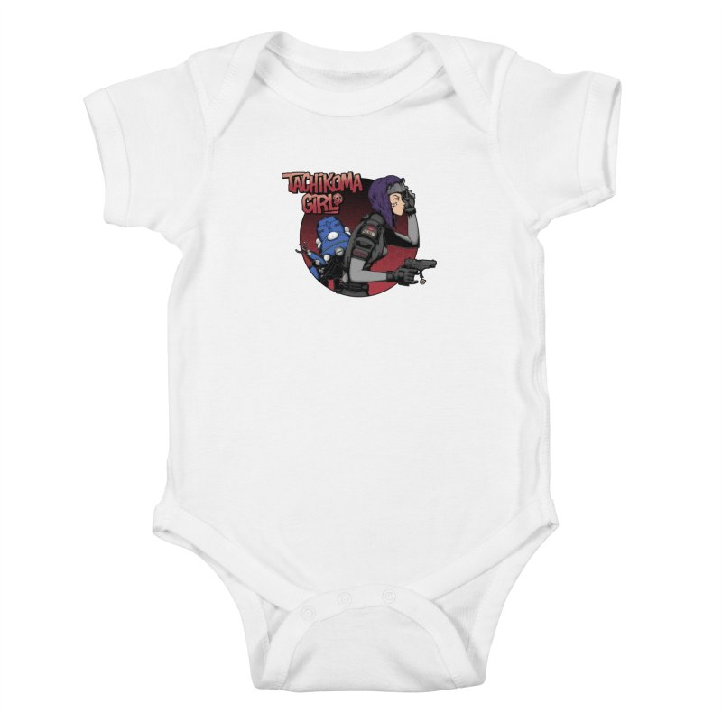 Tachi-Tank Girl Kids Baby Bodysuit by Pigboom's Artist Shop