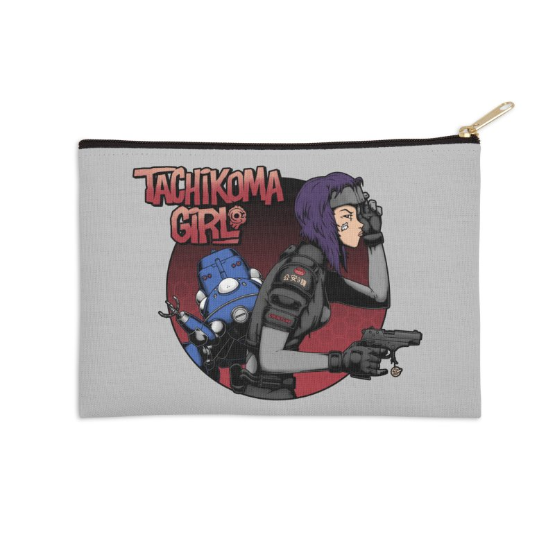 Tachi-Tank Girl Accessories Zip Pouch by Pigboom's Artist Shop