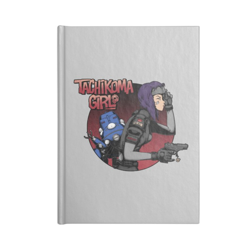 Tachi-Tank Girl Accessories Notebook by Pigboom's Artist Shop