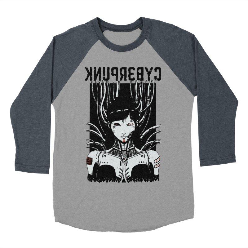 Cyberpunk Women's Baseball Triblend T-Shirt by Pigboom's Artist Shop
