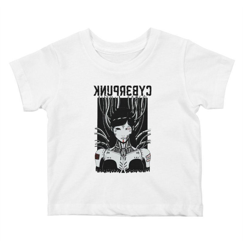 Cyberpunk Kids Baby T-Shirt by Pigboom's Artist Shop