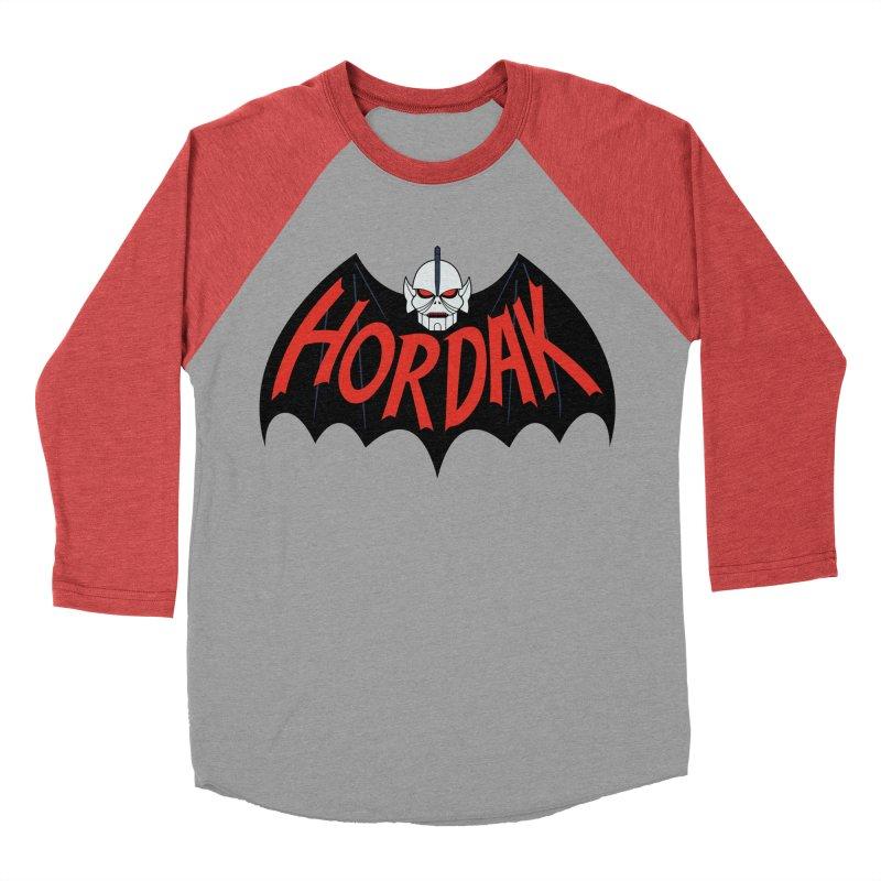 Horde Man Women's Baseball Triblend T-Shirt by Pigboom's Artist Shop