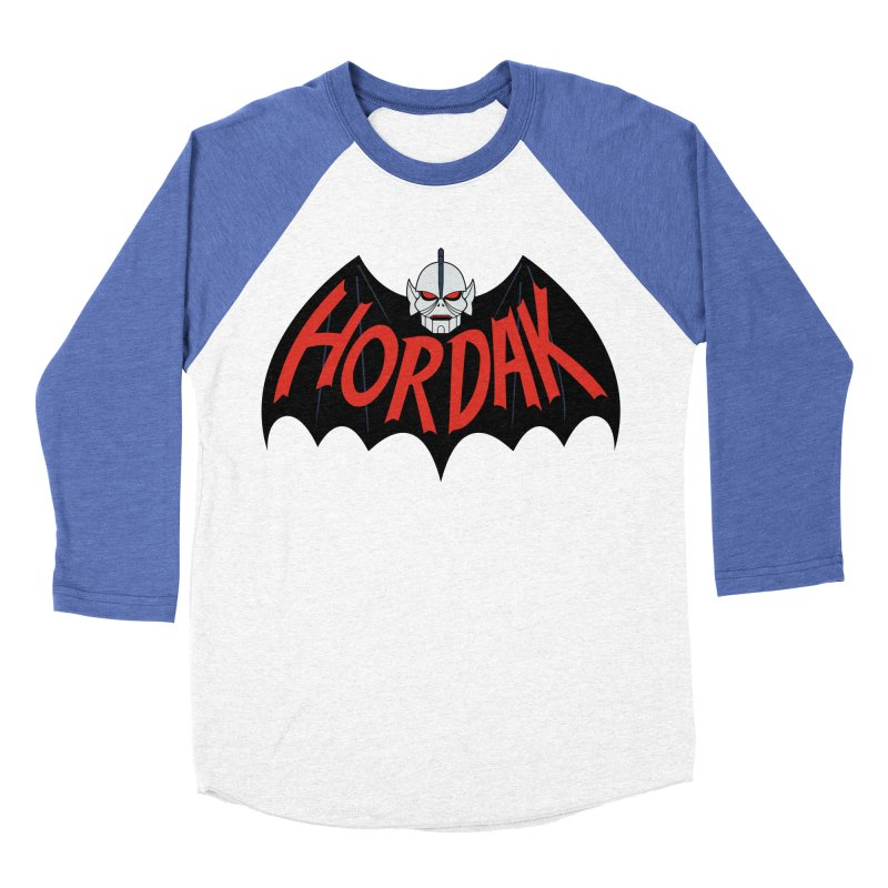Horde Man Men's Baseball Triblend T-Shirt by Pigboom's Artist Shop
