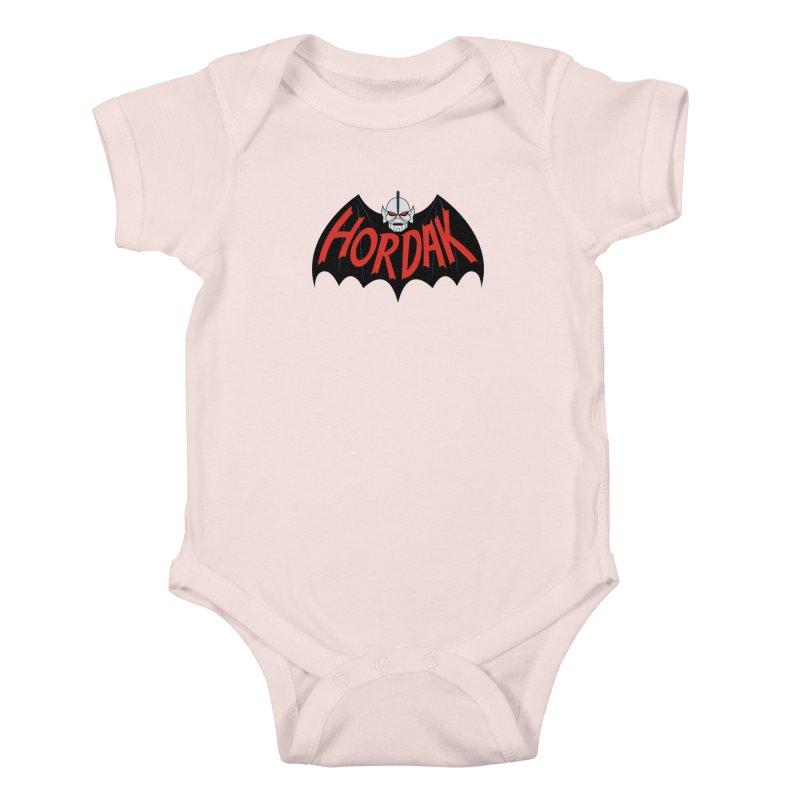 Horde Man Kids Baby Bodysuit by Pigboom's Artist Shop