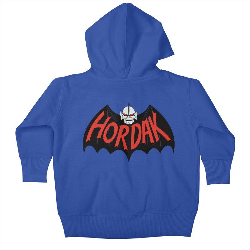 Horde Man Kids Baby Zip-Up Hoody by Pigboom's Artist Shop
