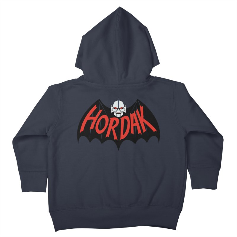 Horde Man Kids Toddler Zip-Up Hoody by Pigboom's Artist Shop