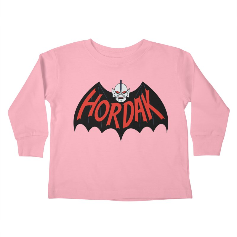 Horde Man Kids Toddler Longsleeve T-Shirt by Pigboom's Artist Shop