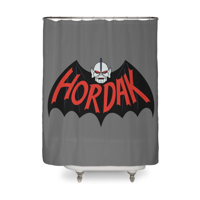 Horde Man Home Shower Curtain by Pigboom's Artist Shop