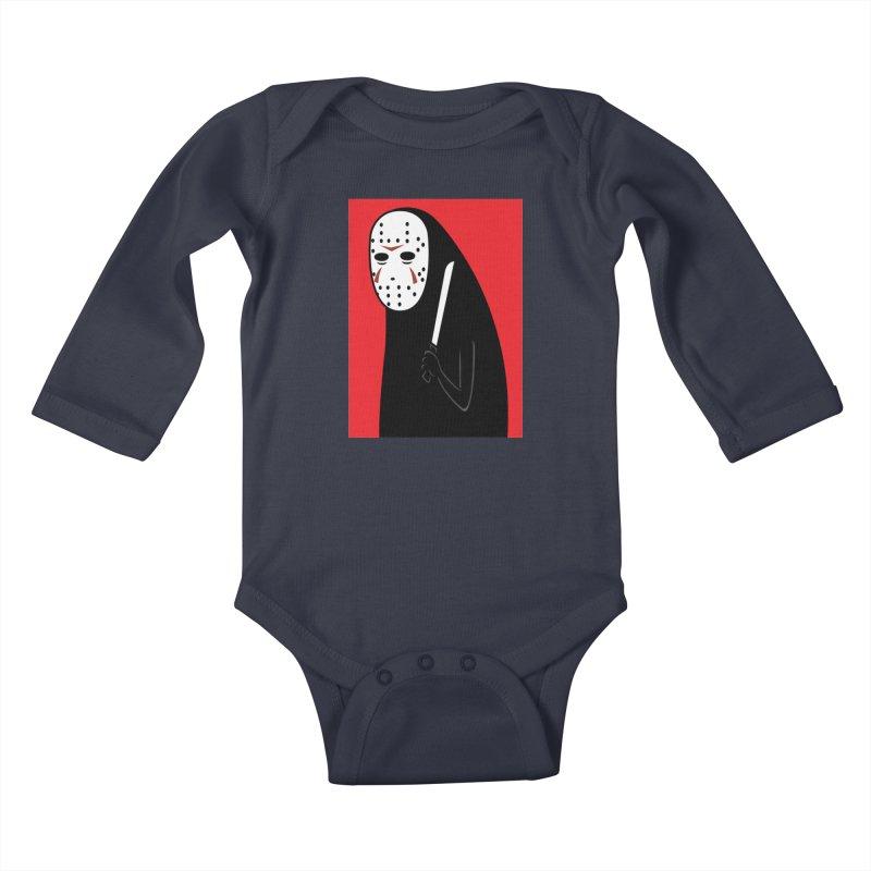 Killah - Face Kids Baby Longsleeve Bodysuit by Pigboom's Artist Shop