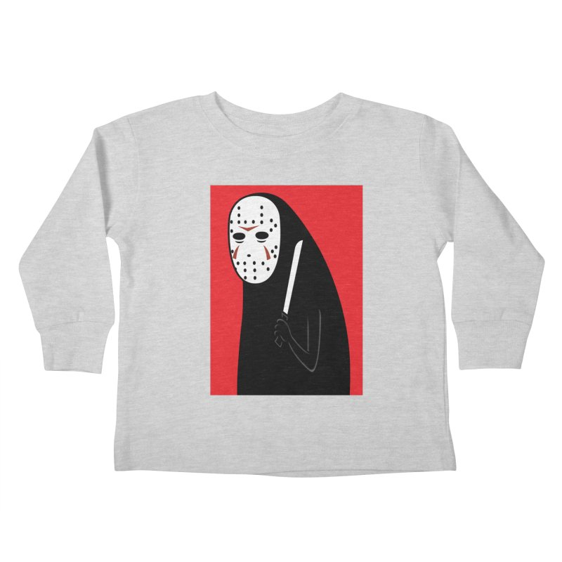 Killah - Face Kids Toddler Longsleeve T-Shirt by Pigboom's Artist Shop
