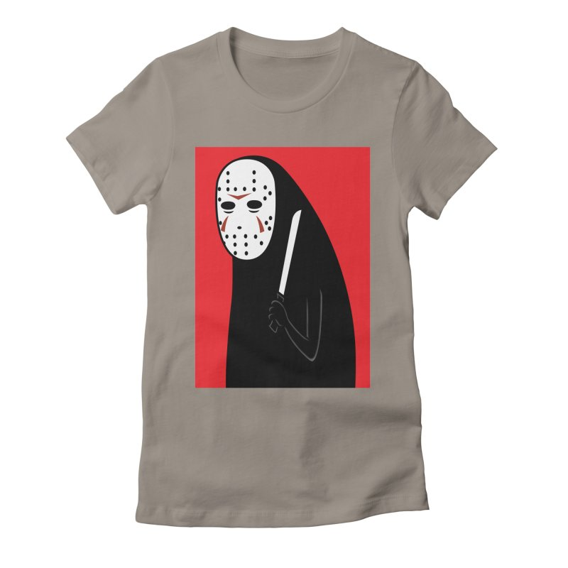 Killah - Face Women's Fitted T-Shirt by Pigboom's Artist Shop