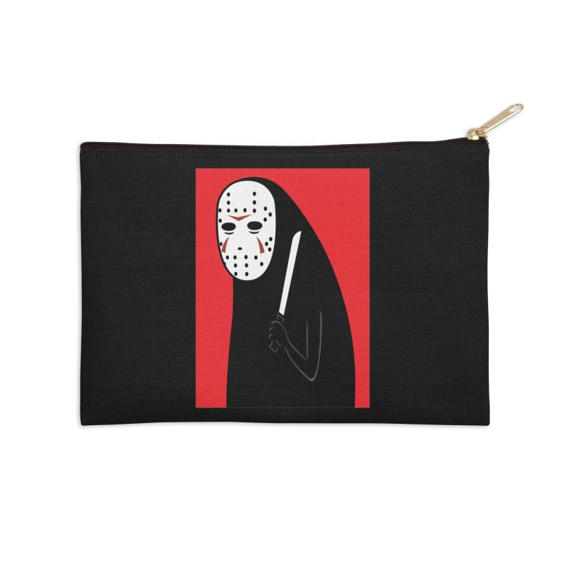 Killah - Face Accessories Zip Pouch by Pigboom's Artist Shop