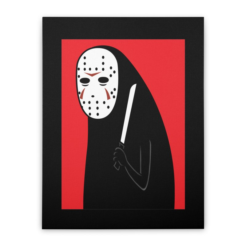 Killah - Face Home Stretched Canvas by Pigboom's Artist Shop