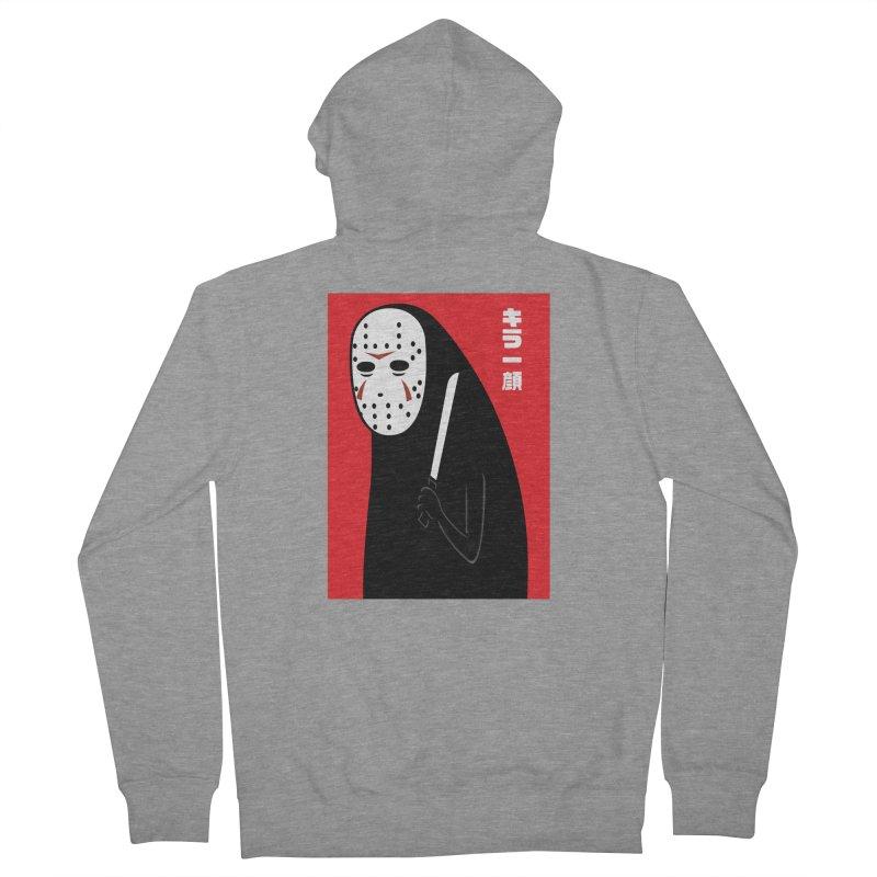Killer Face Men's Zip-Up Hoody by Pigboom's Artist Shop