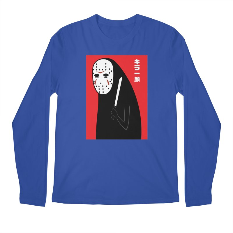 Killer Face Men's Longsleeve T-Shirt by Pigboom's Artist Shop