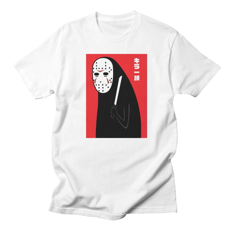 Killer Face Women's Unisex T-Shirt by Pigboom's Artist Shop