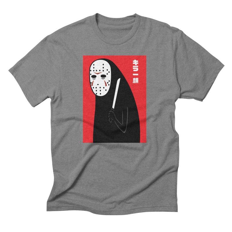 Killer Face Men's Triblend T-shirt by Pigboom's Artist Shop