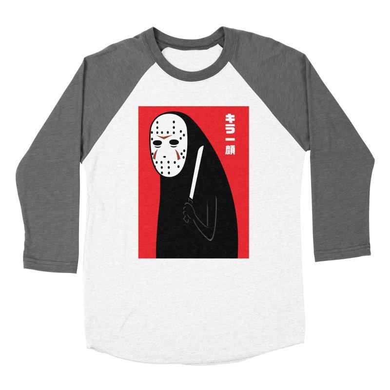 Killer Face Women's Baseball Triblend T-Shirt by Pigboom's Artist Shop