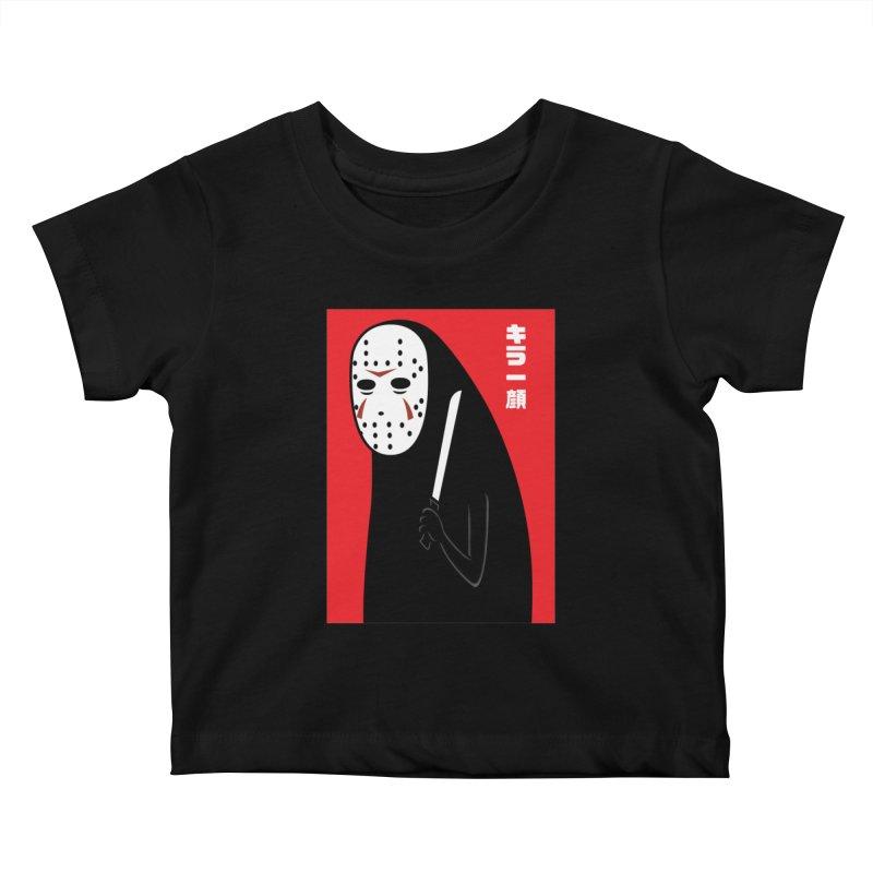 Killer Face Kids Baby T-Shirt by Pigboom's Artist Shop