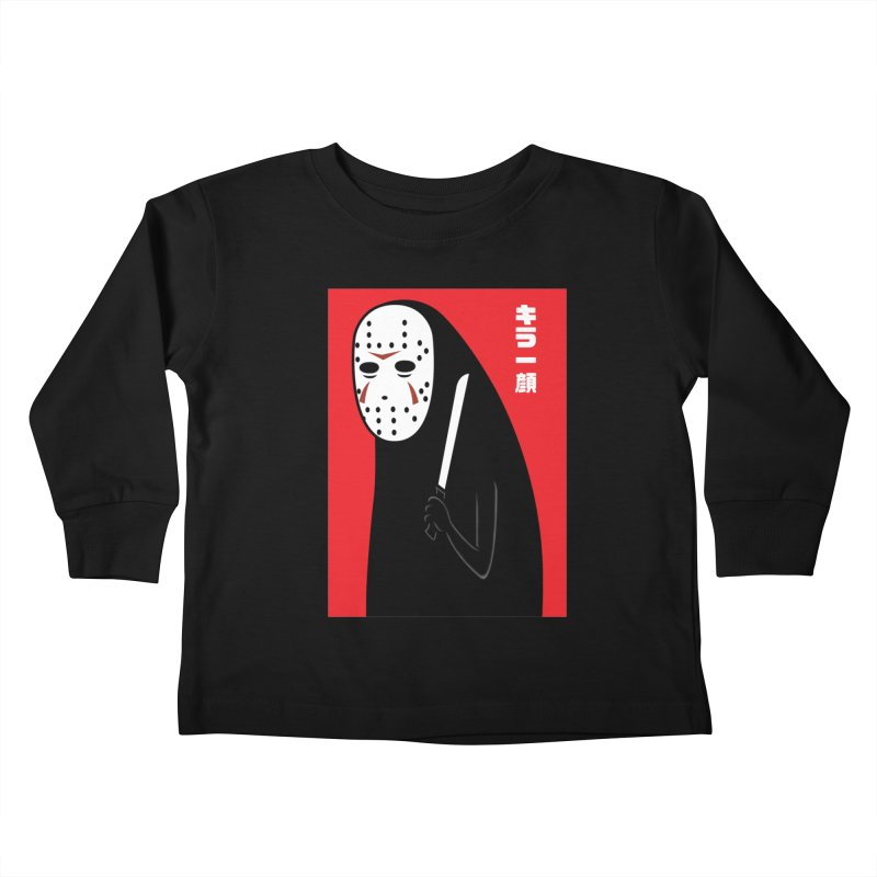 Killer Face Kids Toddler Longsleeve T-Shirt by Pigboom's Artist Shop