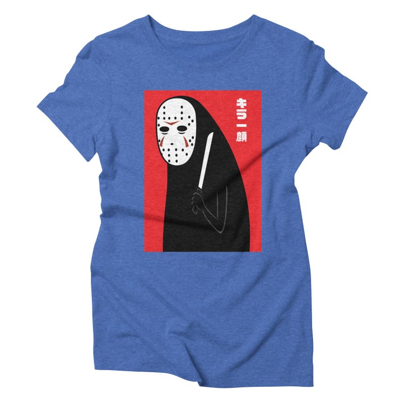 Killer Face Women's Triblend T-shirt by Pigboom's Artist Shop