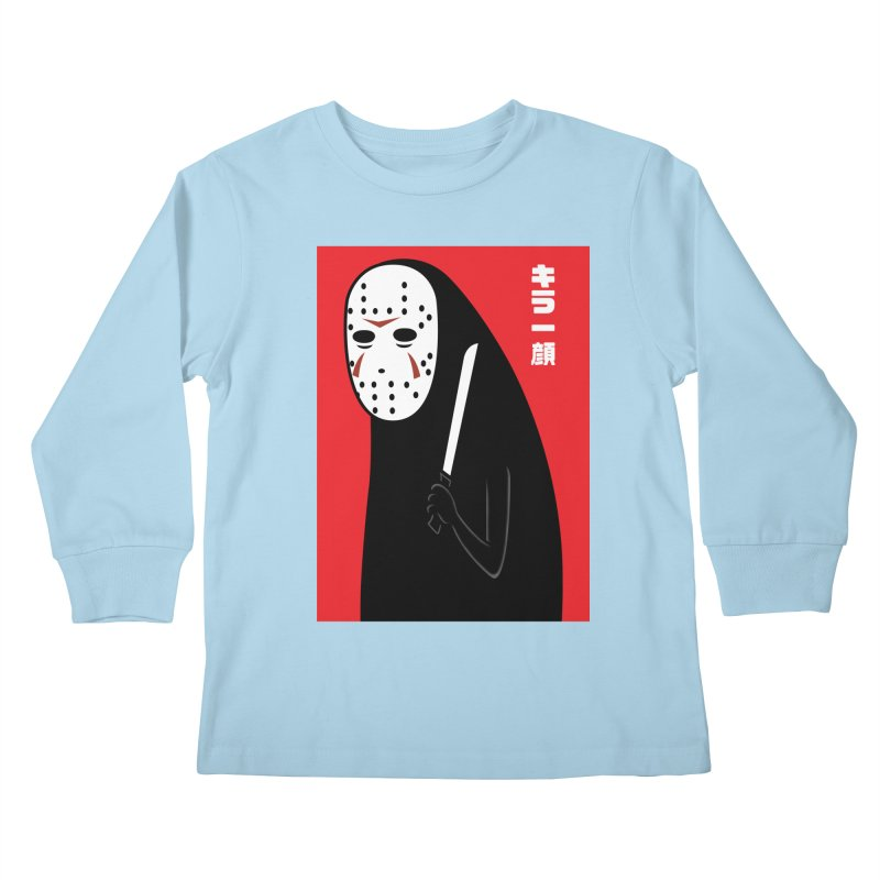 Killer Face Kids Longsleeve T-Shirt by Pigboom's Artist Shop