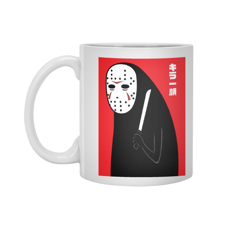 Killer Face Accessories Mug by Pigboom's Artist Shop