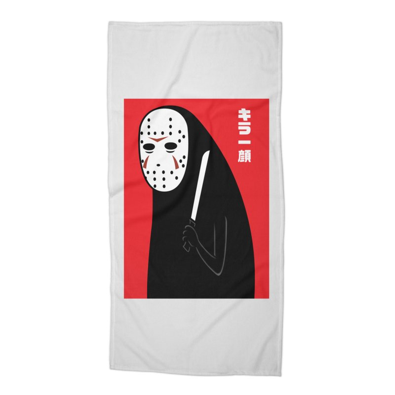 Killer Face Accessories Beach Towel by Pigboom's Artist Shop