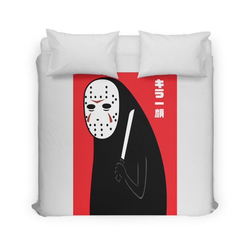 Killer Face Home Duvet by Pigboom's Artist Shop