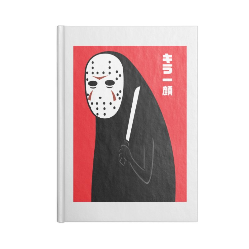 Killer Face Accessories Notebook by Pigboom's Artist Shop