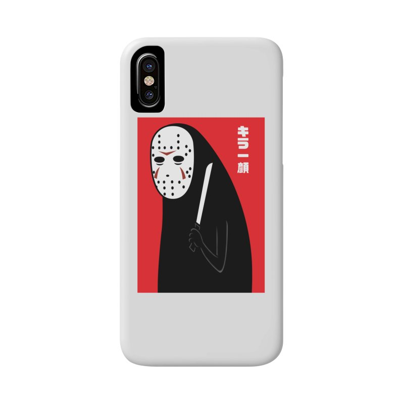 Killer Face Accessories Phone Case by Pigboom's Artist Shop