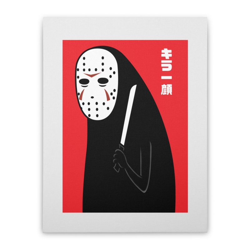 Killer Face Home Stretched Canvas by Pigboom's Artist Shop