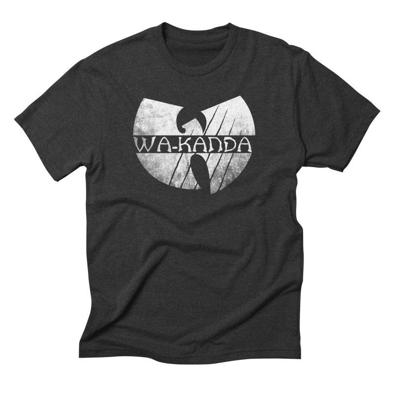 Wu-Kanda Clan Men's Triblend T-shirt by Pigboom's Artist Shop