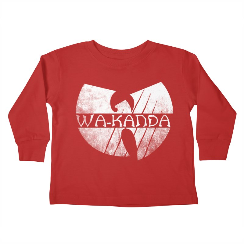 Wu-Kanda Clan Kids Toddler Longsleeve T-Shirt by Pigboom's Artist Shop