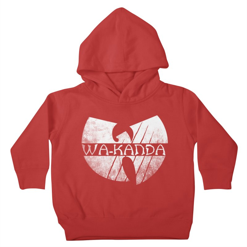 Wu-Kanda Clan Kids Toddler Pullover Hoody by Pigboom's Artist Shop