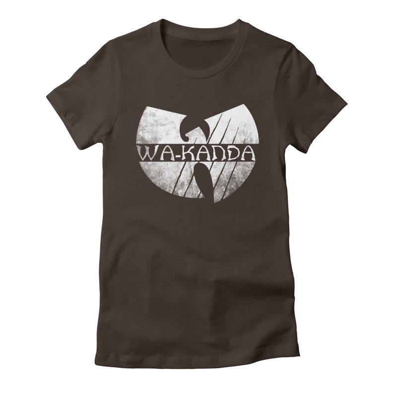 Wu-Kanda Clan Women's Fitted T-Shirt by Pigboom's Artist Shop