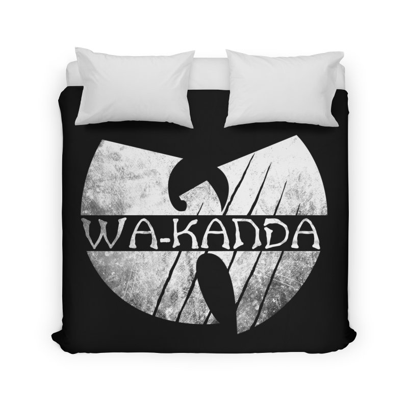 Wu-Kanda Clan Home Duvet by Pigboom's Artist Shop