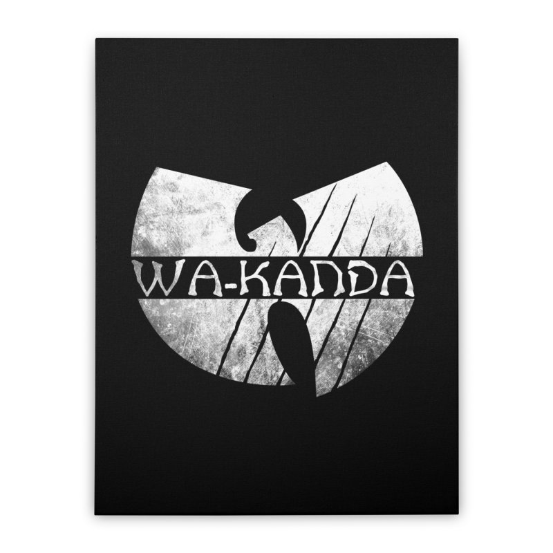 Wu-Kanda Clan Home Stretched Canvas by Pigboom's Artist Shop