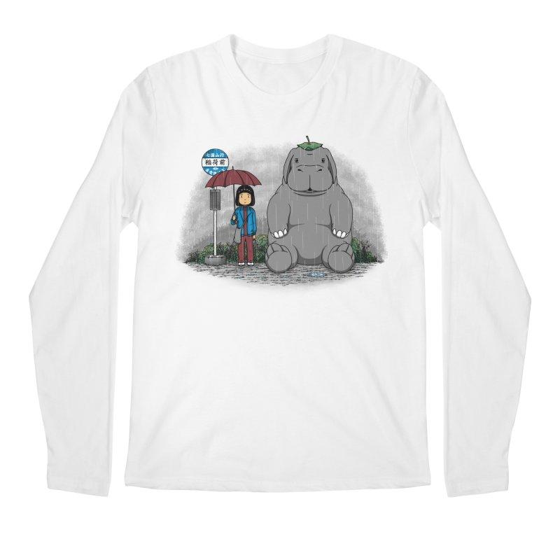 My Super Pig Men's Longsleeve T-Shirt by Pigboom's Artist Shop