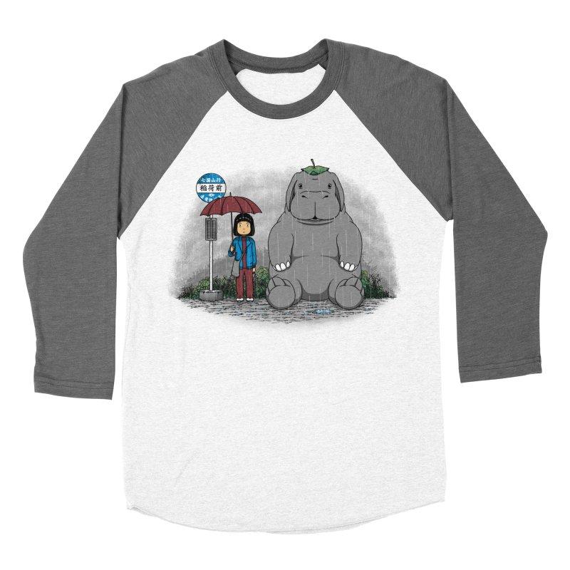 My Super Pig Men's Baseball Triblend T-Shirt by Pigboom's Artist Shop